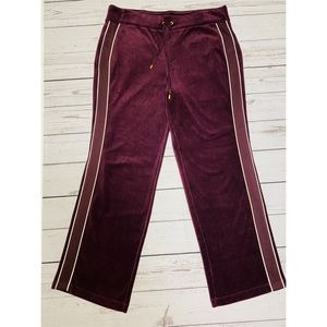 LAUREN Ralph Lauren Burgundy Straight Pants Sz LP